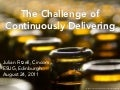 The Challenge of Continuously Delivering