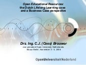 OER and new business models