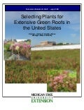 Selecting Plants for Extensive Green Roofs