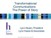 Transformational Communications:  T...