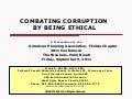 9/9 FRI 9:30 | Combating Corruption By Being Ethical 3