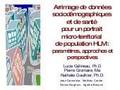 Linkage of Socio‐demographic and He...
