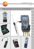Testo - Pressure Refridgeration Equipment