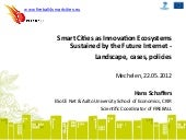 Smart Cities as Innovation Ecosyste...