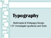 1.01 Typography PowerPoint