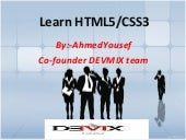#1 of HTML and CSS3