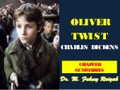 OLIVER TWIST, CHAPTER SUMMARIES