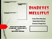 1. Diabetes Mellitus - Medicina Int...