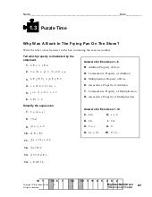 math worksheet : 1 2 puzzle time : Puzzle Time Math Worksheets