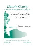 South Lincoln County, Economic Development Strategies