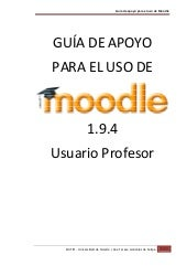 1.9.4 usuario profesor manual moodle