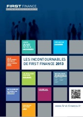 Brochure Incontournables de FIRST F...