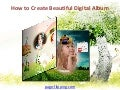 Create Digital Album with page Flipping Effect