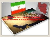 Iran as anuclear state