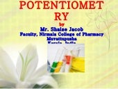 1  Potentiometry