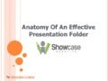 Anatomy Of An Effective Presentation Folder
