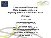 Maize Pathways workshop presentatio...