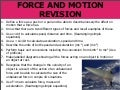 1 - Revision of Y11 Mechanics