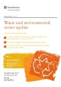 Grant Thornton - Waste and environmental sector update