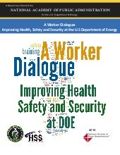 A Worker Dialogue: Improving Health...