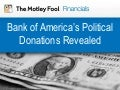 Bank of America's Political Contributions
