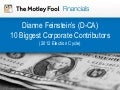 Dianne Feinstein's 10 Biggest Corporate Contributors