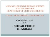 10.01.03.026 -SHEAR FORCE DIAGRAM
