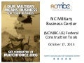 FEDCON Summit: NCMBC Tools for Contractors