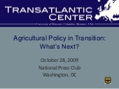10.28.09 MU Transatlantic Center Ag...