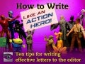 How to Write Like an Action Hero!