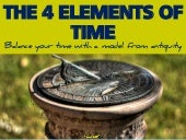 The 4 Elements of Time