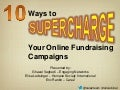 10 Ways to Supercharge your Online Fundraising