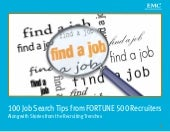 100 Job Search Tips from FORTUNE 50...