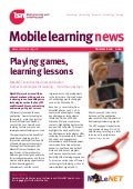Mobile learning news - Summer 2010