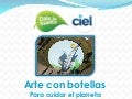 Arte con botellas