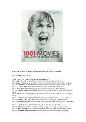 1001 movies you must see before you...