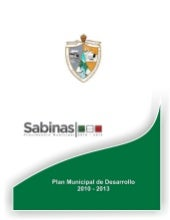 Plan municipal sabinas 2010 2013