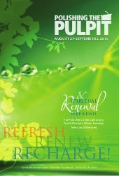 2010 Polishing The Pulpit Brochure