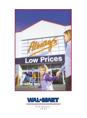 WAL mart store2002 Financials
