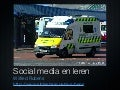 Social media en leren ambulancezorg