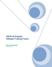 100 most popular software testing t...