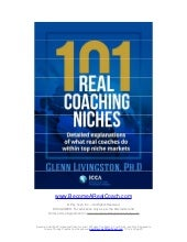 101 Real Coaching Niches - Helping ...