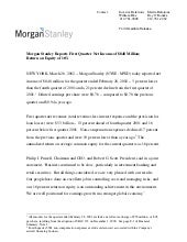 morgan stanley Earnings Archive2002...