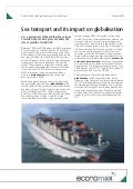 econoMAX - Sea transport and its impact on globalisation