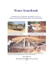 Water from roofs