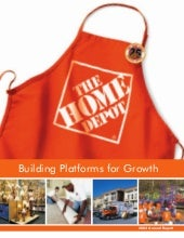 home depot Annual Report 2004