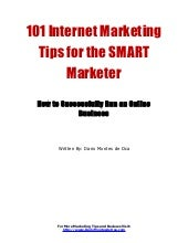101 Internet Marketing Tips