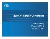Pfizer at the 27th Annual J.P. Morg...