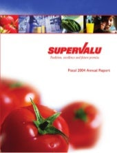 supervalu annual report 2004