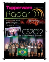 Radar 09/2012 Tupperware